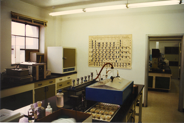 Inside a small part of Henri's Labs