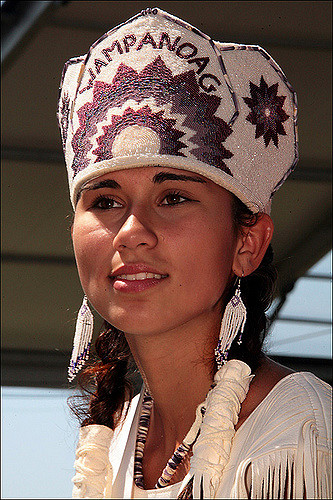 Native American, Wampanoag Woman